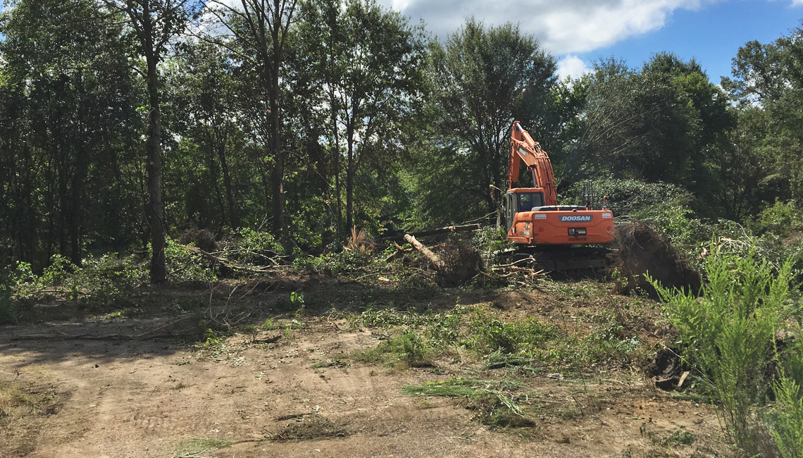 Epping Way - Wolf River Greenway Construction